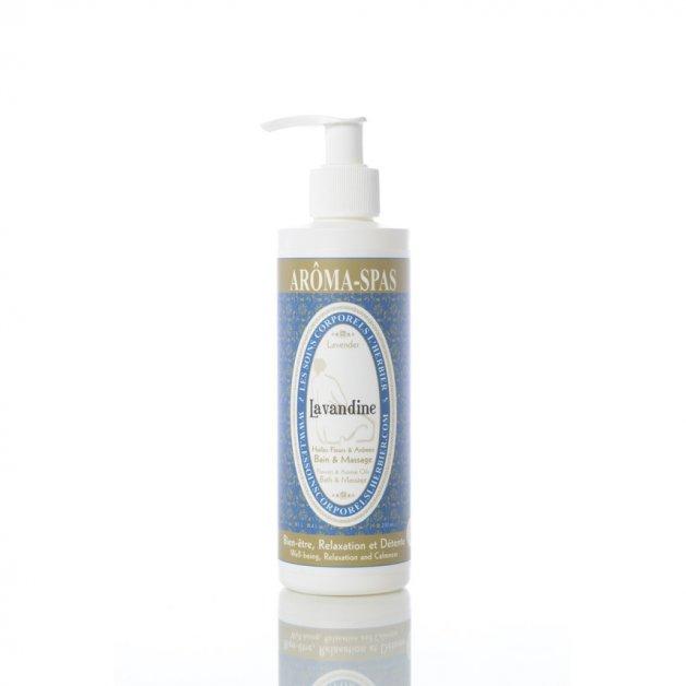Huile de bain et massage Lavandine