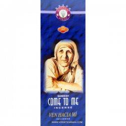 Encens en bâtons Venez à moi (Mère Theresa) - 20 bâtons