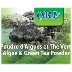 Poudre d'algues et Thé Vert - Enveloppement & bain