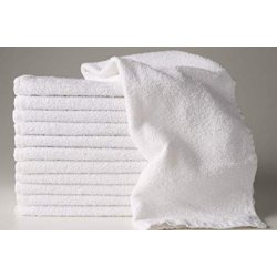 White towel 22''x44'' - Clearance