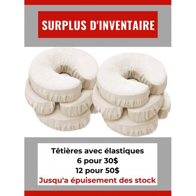 Surplus d'inventaire - Têtière avec élastique Allez Housses Liquidation