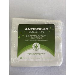 Lingettes sèches - Réutilisables & recyclables - 150 unités  Accueil