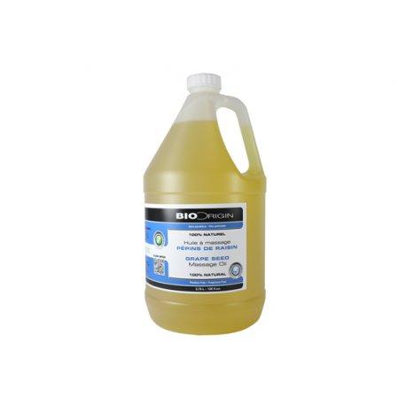 Huile à massage 100% Pure - Pépin de Raisin BioOrigin Produits de massage