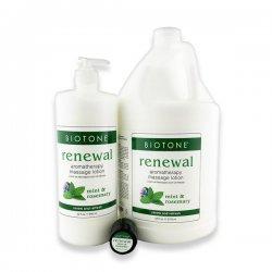 Lotion de Massage Aromathérapie 'Renewal' - Biotone