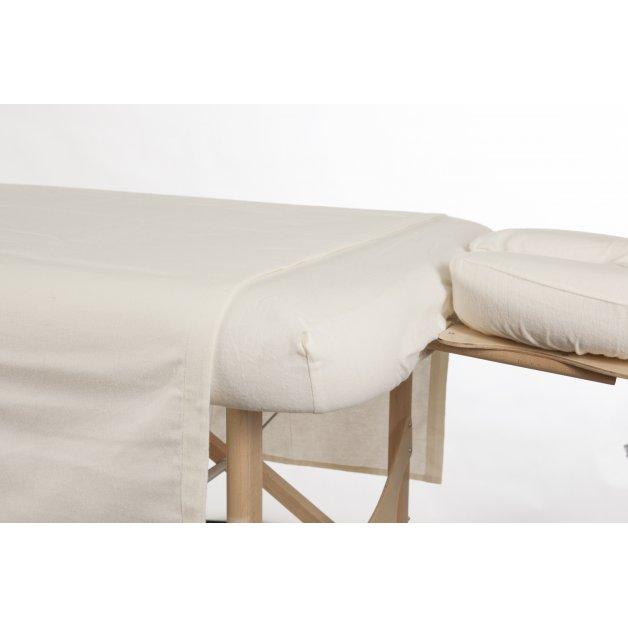 Ensemble 3 morceaux Flanelle Allez Housses Literie de massage