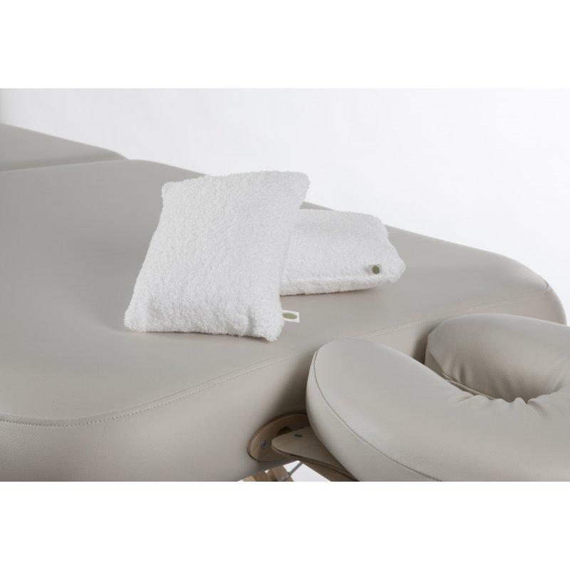 Sourcingmap Coussin Mousse /à m/émoire Forme Demi-Lune Nuque Coussin Genou Housses lavables