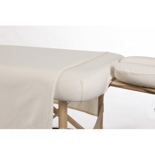 Drap housse/contour - Tricot de coton Allez Housses Literie de massage
