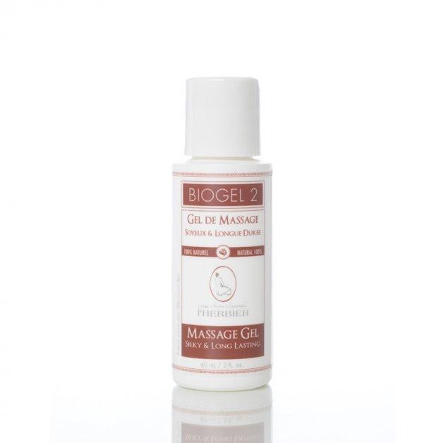 Biogel 2 - Soyeux et longue durée Les Soins Corporels l'Herbier Produits de massage
