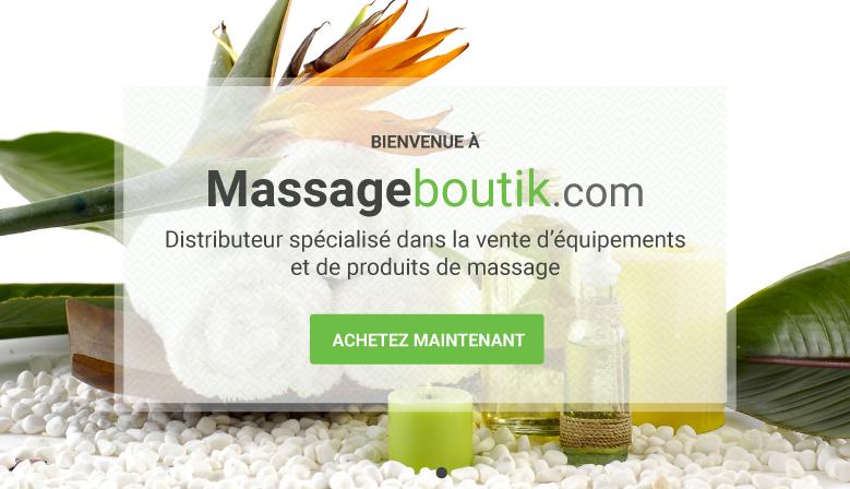 Distributeur spécialisé dans la vente d'equiments et de produits de massage